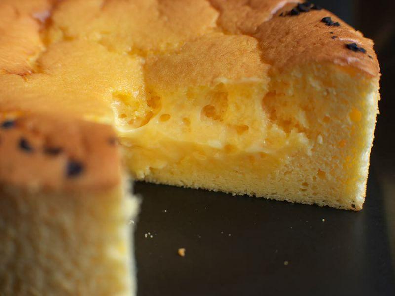 ゴルゴンゾーラ・チェダー・クリームチーズ。3種混合チーズ